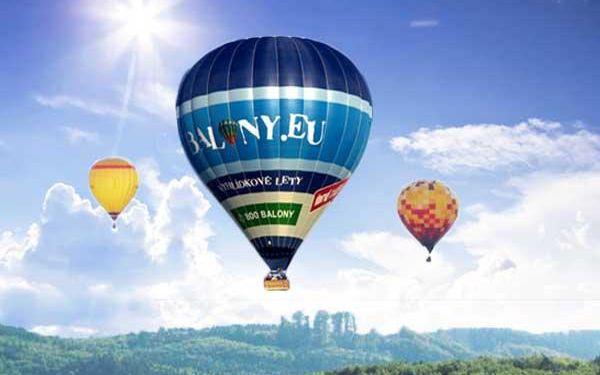 Pobyty v BalonCentru Břestek s lety balónem!