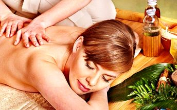 Luxusní růžová masáž