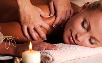 60minutová aroma harmony candle masáž