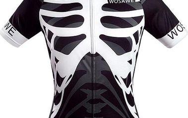 Pánské cyklistické triko s hrudními kostmi