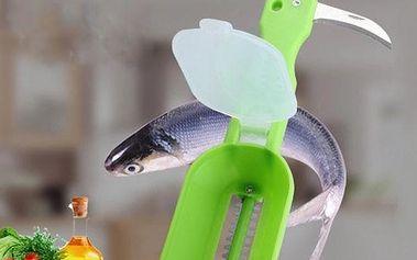 Praktická pomůcka na očištění ryb