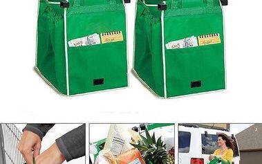 Skládací taška do nákupního vozíku - 2 kusy