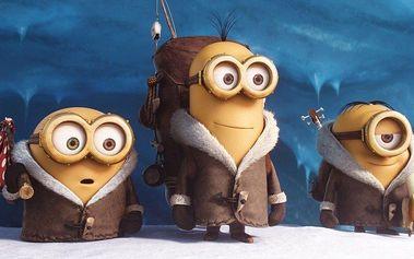 Mikulášské promítání filmu Mimoni 3D pro dva