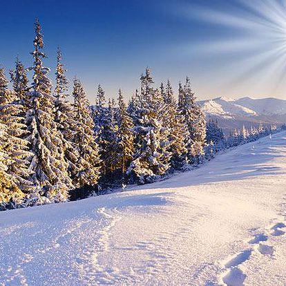 Zimní wellness pobyt pro 2 na Vysočině