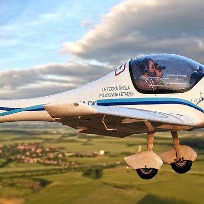 Řízení a let v letadle Zephyr 2000
