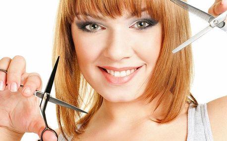 Kompletní střih s masáží hlavy a sérem pro…