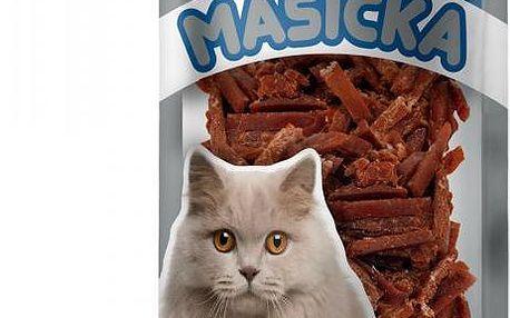 Akinu Kachní nudličky pro kočky 7 x 50g