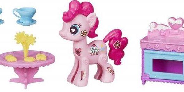 My Little Pony Pop poník se zařízením do domečku Pinkie Pie