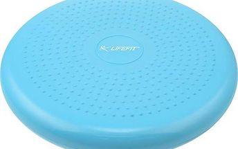 Balanční masážní polštářek Lifefit BALANCE CUSHION 33 cm - modrá (Náhradní obal / Silně deformovaný obal 8216029206)