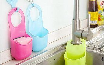 Plastová kapsa na houbičku či mýdlo - více barev