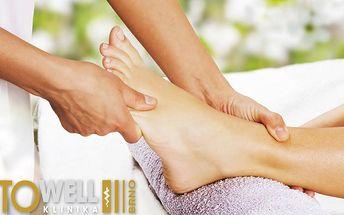 Uvolňující reflexní masáž chodidel! Jedinečný relaxační zážitek s významnými účinky na zdraví!