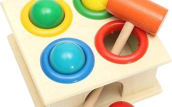 Vzdělávací dřevěná hračka pro děti