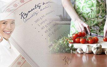 Originální rodinná kuchařka. Osobní odběr v Plzni! Schraňujete rodinné či osvědčené recepty a rádi byste z nich vytvořili krásnou kuchařku, kterou můžete i darovat jako originální dárek? Nechte si všechny tyto poklady vytisknout do krásné, staročeské kuch