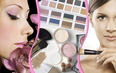 Zkrášlující balíček 3v1 v Praze. Čeká Vás kurz líčení, barevná typologie i analýza pleti. Zjistěte, jaké barvy Vám sluší, naučte se je používat a staňte se krásnou a spokojenou ženou díky chytrým kosmetickým trikům! Poukaz je možné využít jako vánoční dár