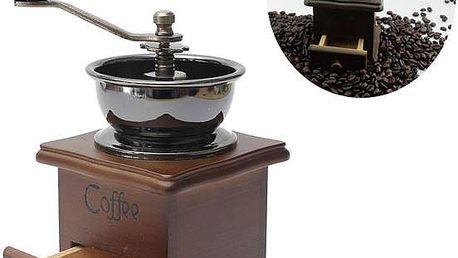 Retro mlýnek na kávu