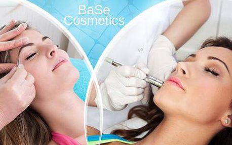 Kosmetické ošetření pro krásnou pleť. Barvení a úprava obočí, diamant. mikrodermabraze či radiofrekvenční lifting.