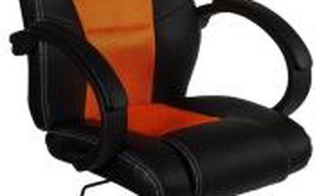 Otočná kancelářská židle MX Racer oranžová OEM M09503