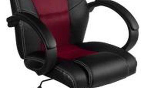 Otočná kancelářská židle MX Racer vínová červená OEM M09502