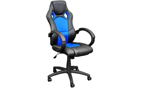 Otočná kancelářská židle Hawaj modro-černá MX Racer