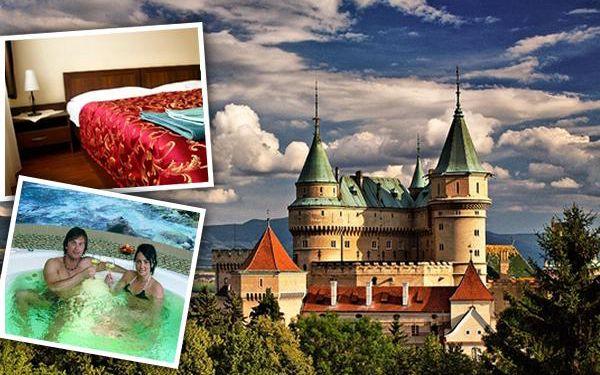 2099 Kč za 3-denní pobyt v termálech Bojnice v 3* hotelu s polopenzí pro dva - Bojnický zámek, termální lázně a největší slovenská ZOO na jednom místě! Nástup kterýkoliv den v týdnu, platnost až do 30.4.2016