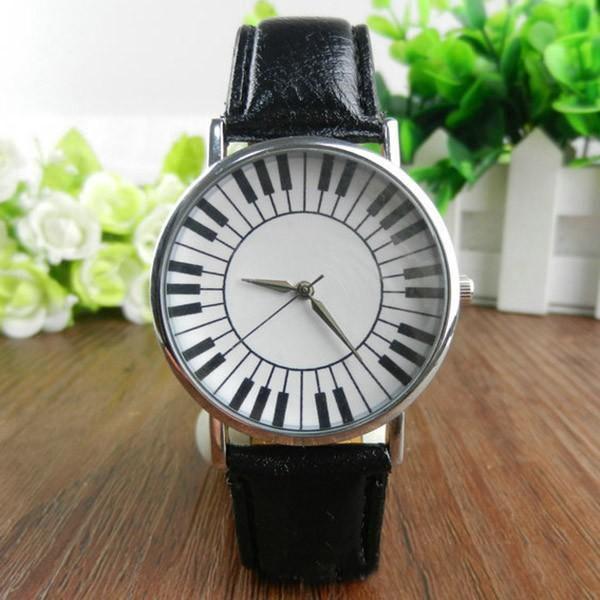 Dámské hodinky s motivy piána