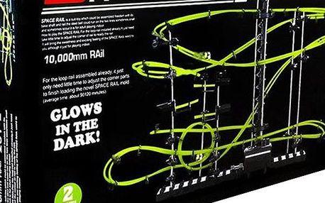 kuličková dráha Spacerail Level 2 GLOW