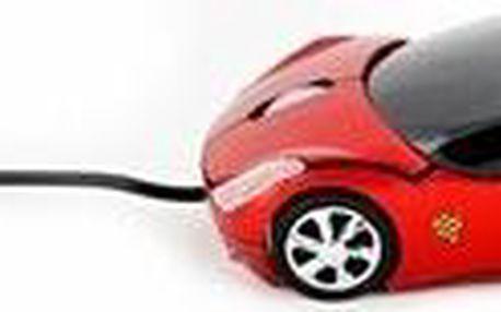 Optická myš Porsche Carerra 911