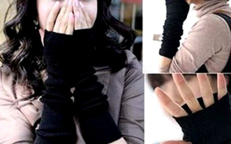 Zimní návleky na ruce