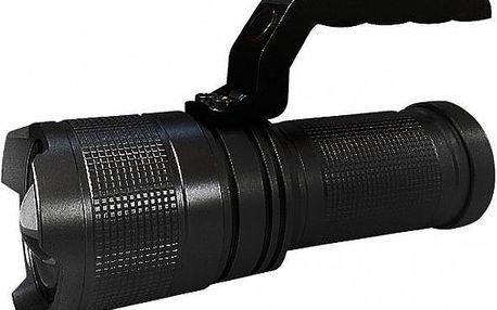 Profesionální LED svítilna: vysoký výkon, odolný materiál, 3 režimy svícení!