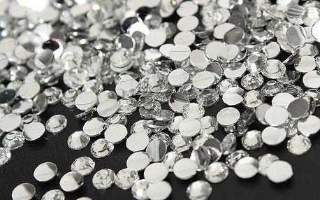 1500 nalepovacích kamínků na nehty