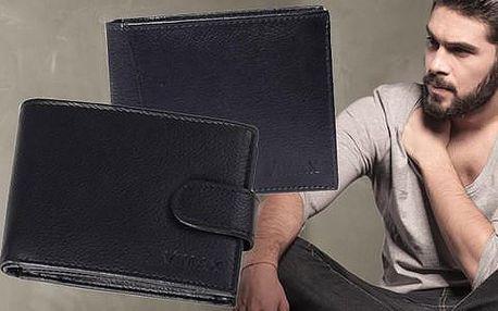 Elegantní pánské peněženky Vimax z kvalitní kůže