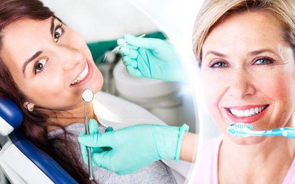 Dentální hygiena včetně pískování a instruktáže na Praze 4. Zářivý úsměv a zdravé zuby za 60 minut.