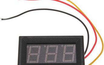 Měřič napětí baterie