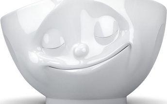 Šťastná miska, bílá