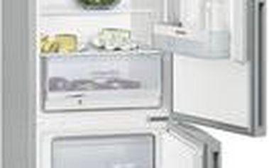 Kombinovaná lednička s mrazákem dole Siemens KG 39VVL30 (mírně promáčklá na pravém zadním rohu)