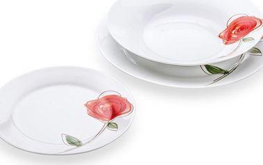 Florina 18dílná talířová sada Rose