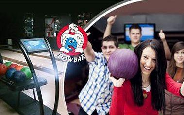 Praha - hodinový bowling v BowBaru až pro 6 hráčů jen za 14 Kč na osobu! Poslední možnost nákupu!