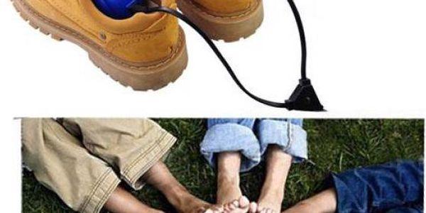 Praktický sušák bot pro zimní období
