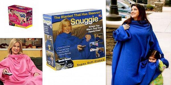 Deka s rukávy - Snuggie