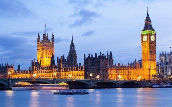 Londýn, Brighton, Leeds - poznávací zájezd