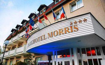 Luxusní 5denní wellness pobyt pro dva v Lužických horách v Parkhotelu Morris****