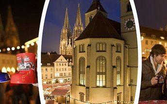 Zájezd na adventní trhy do Regensburgu pro 1 osobu! Navštivte jedny z nejhezčích německých trhů, v ceně je doprava luxusním 4* autobusem i služby průvodce - nasajte pravou vánoční atmosféru za neuvěřitelnou cenu!
