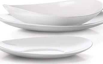Bormioli 18dílná sada talířů Prometeo