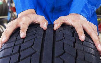 Výměna letních pneumatik za zimní