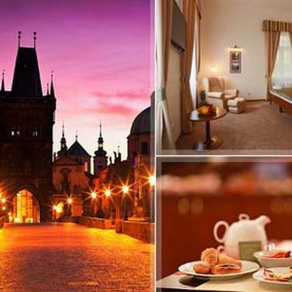 Luxusní ubytování v Hotelu U Svatého Jana***+ pro 2 osoby centru Prahy včetně snídaně + děti do 3 let ZDARMA