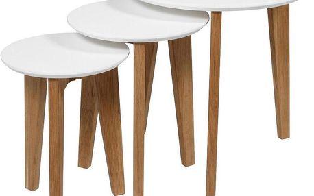 Sada 3 kávových stolků Abin - doprava zdarma!