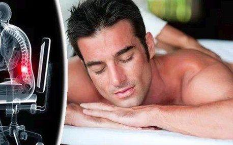 Kancelářská masáž - pro bolavá záda