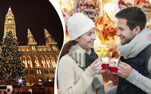 Adventní Vídeň - jednodenní zájezd pro 1 osobu! Tradiční předvánoční trhy v rakouské metropoli a prohlídka jejích nejznámějších památek! V ceně doprava luxusním autobusem i služby průvodce!