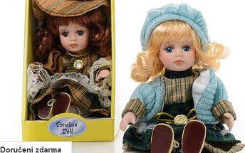 Porcelánová panenka v dárkové krabičce