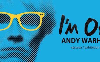 Vstupenka na výstavu I'm OK – Andy Warhol